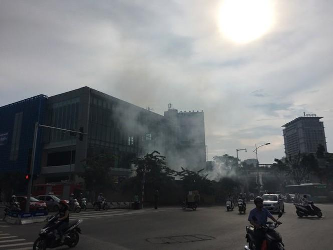 Cháy trong công trường nhà ga đường sắt Cát Linh - Hà Đông - ảnh 3