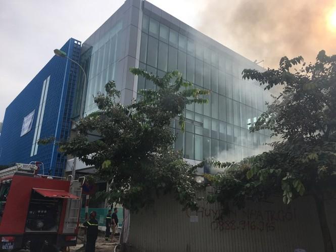 Cháy trong công trường nhà ga đường sắt Cát Linh - Hà Đông - ảnh 5