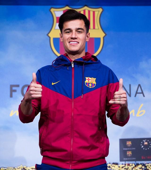Ngôi sao Coutinho rạng ngời ra mắt Barca - ảnh 5