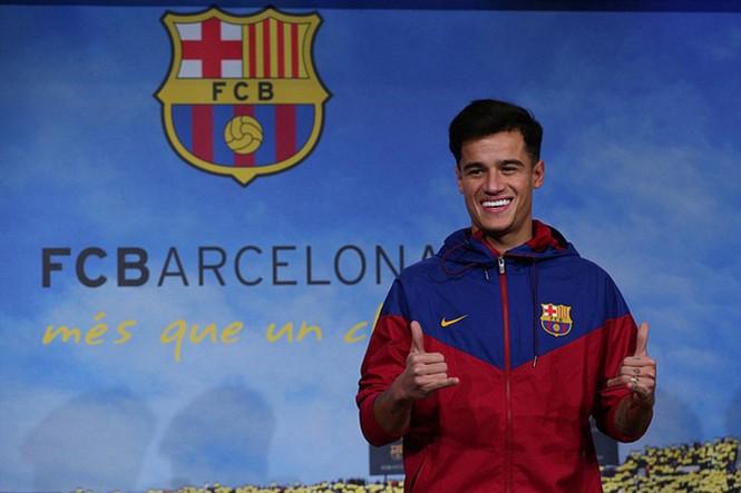 Ngôi sao Coutinho rạng ngời ra mắt Barca - ảnh 1