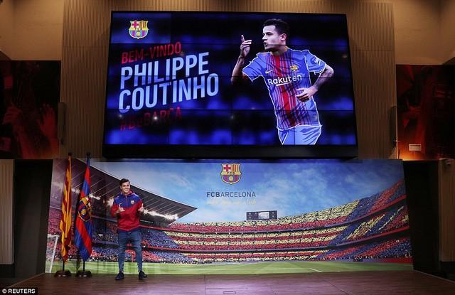 Ngôi sao Coutinho rạng ngời ra mắt Barca - ảnh 2