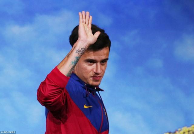 Ngôi sao Coutinho rạng ngời ra mắt Barca - ảnh 3
