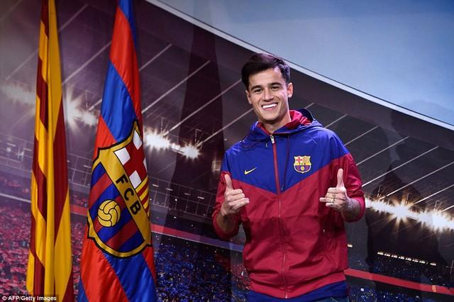 Ngôi sao Coutinho rạng ngời ra mắt Barca - ảnh 4