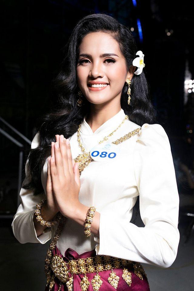 Hoa khôi Đại học An ninh hãnh diện vì vẻ đẹp đặc trưng của người Khmer - ảnh 3