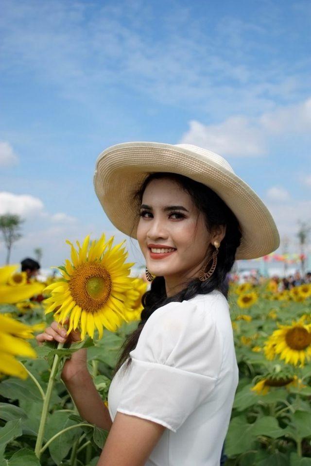Hoa khôi Đại học An ninh hãnh diện vì vẻ đẹp đặc trưng của người Khmer - ảnh 8
