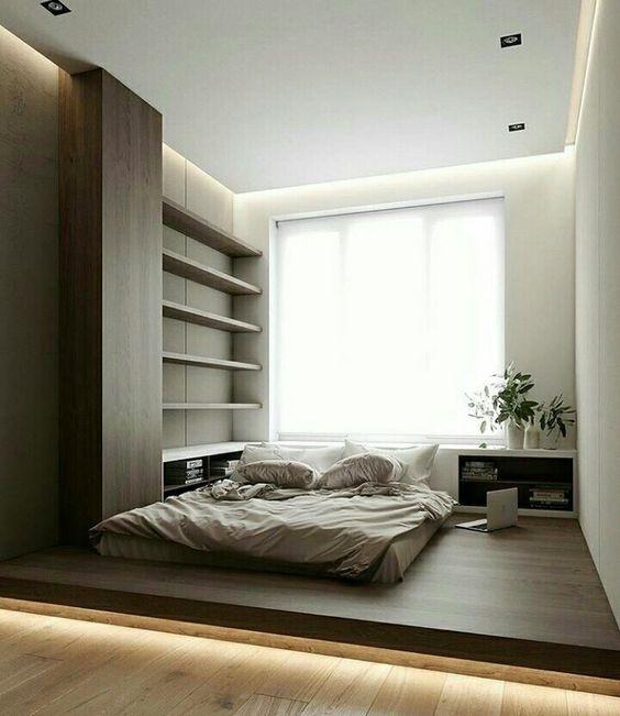Phòng ngủ nổi bật cho nhà phố hẹp nhờ biến tấu cổ điển và cây xanh - ảnh 1