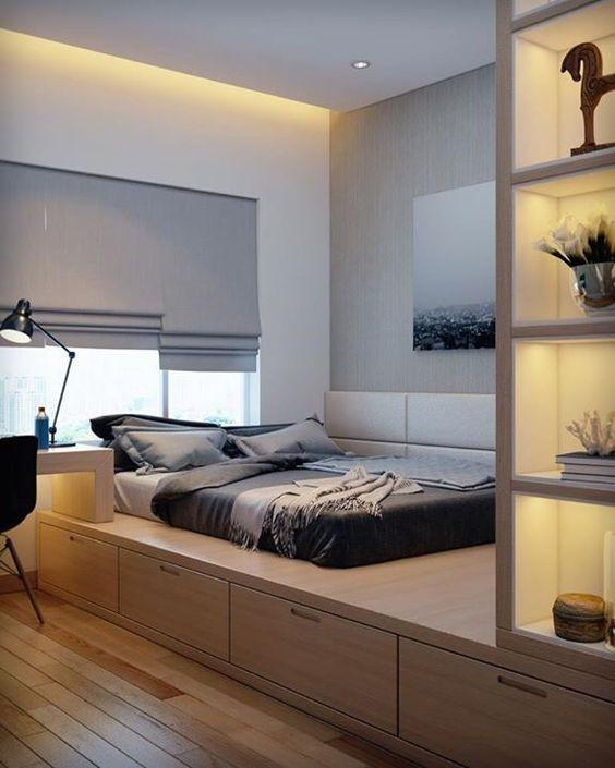 Phòng ngủ nổi bật cho nhà phố hẹp nhờ biến tấu cổ điển và cây xanh - ảnh 2
