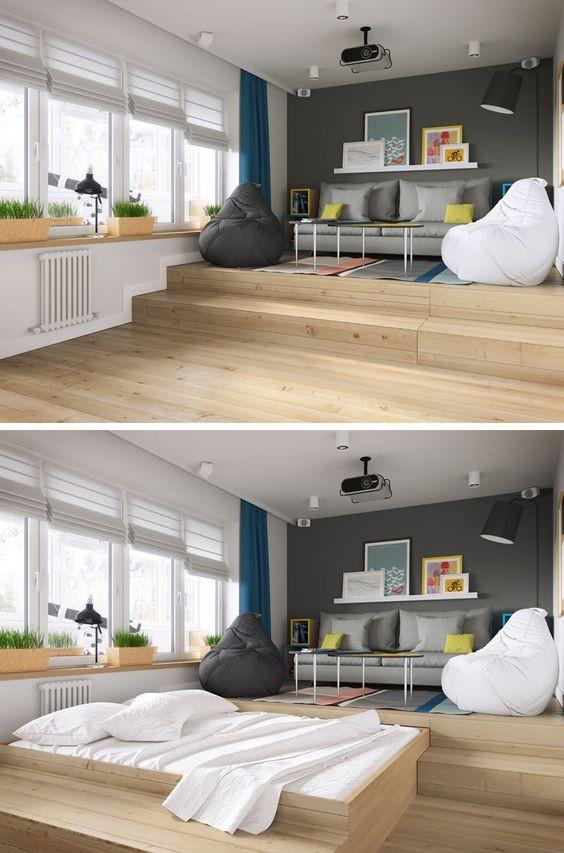 Phòng ngủ nổi bật cho nhà phố hẹp nhờ biến tấu cổ điển và cây xanh - ảnh 4