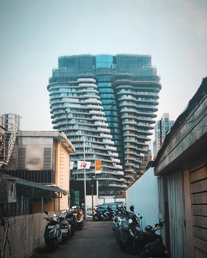 Choáng với tòa nhà kỳ lạ như trong phim viễn tưởng - ảnh 4
