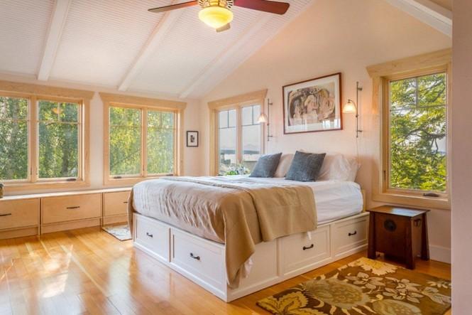Những kiểu giường đột phá về thiết kế và sự tiện dụng cho phòng ngủ tý hon - ảnh 1