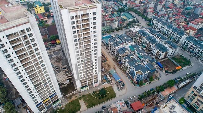 Thực hư chuyện mua căn hộ chung cư phải trả thêm tiền đất làm đường - ảnh 1
