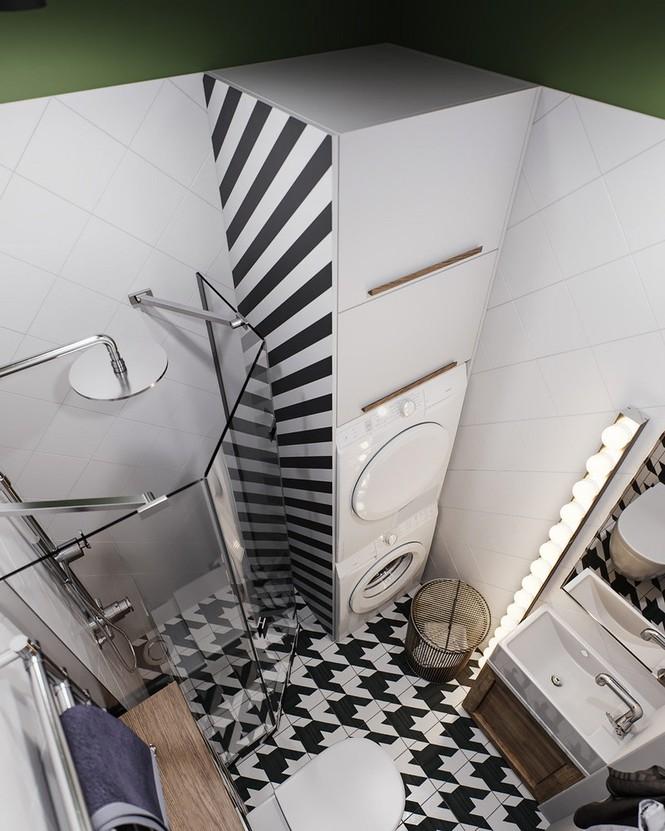 Vẻ đẹp khác lạ của căn chung cư có cách trang trí 'không giống ai' - ảnh 8