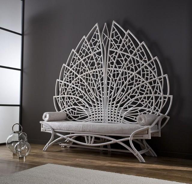 Không gian sống với nội thất mây tre đan đẹp hút hồn - ảnh 5