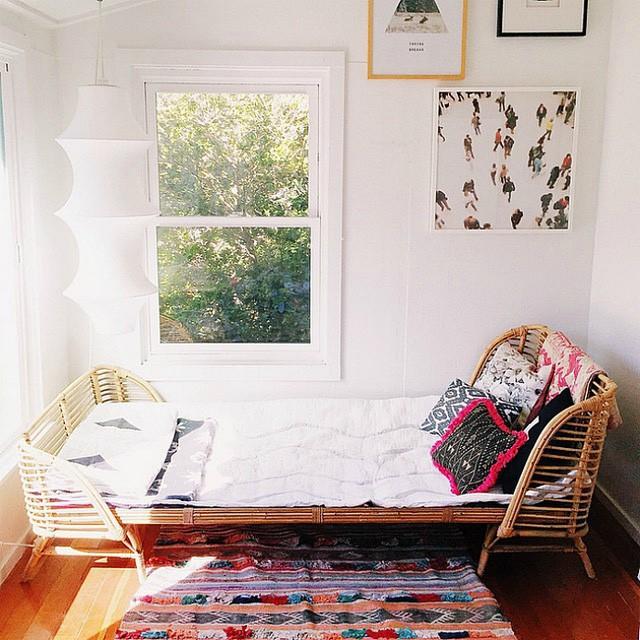 Không gian sống với nội thất mây tre đan đẹp hút hồn - ảnh 8
