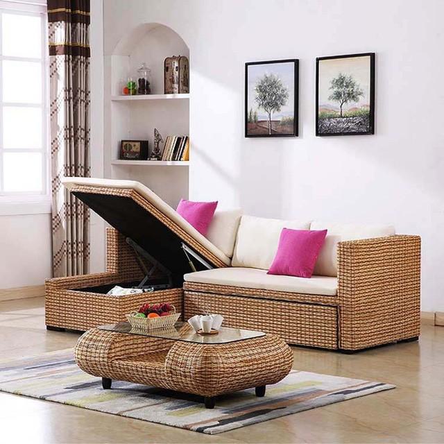 Không gian sống với nội thất mây tre đan đẹp hút hồn - ảnh 9