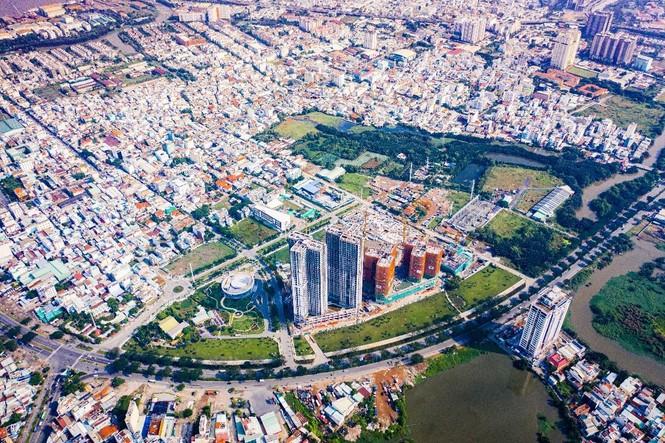 Ấn tượng với tiến độ xây dựng tại Eco Green Saigon - ảnh 1