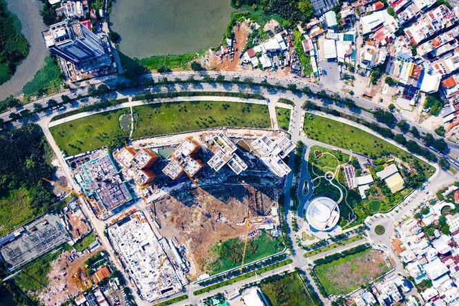 Ấn tượng với tiến độ xây dựng tại Eco Green Saigon - ảnh 2