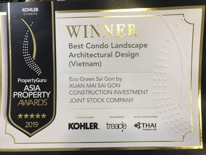 Eco Green Saigon được vinh danh tại PropertyGuru Asia Property Awards 2019 - ảnh 1