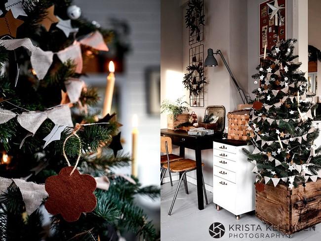 Đón Noel siêu ấm áp với những kiểu trang trí cực đơn giản - ảnh 1