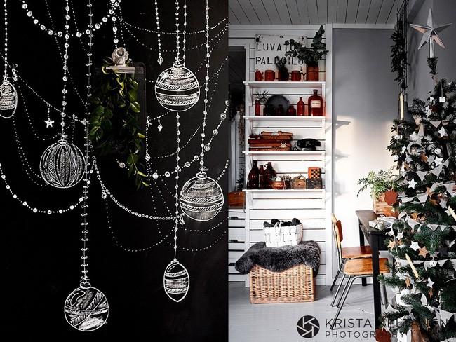 Đón Noel siêu ấm áp với những kiểu trang trí cực đơn giản - ảnh 5