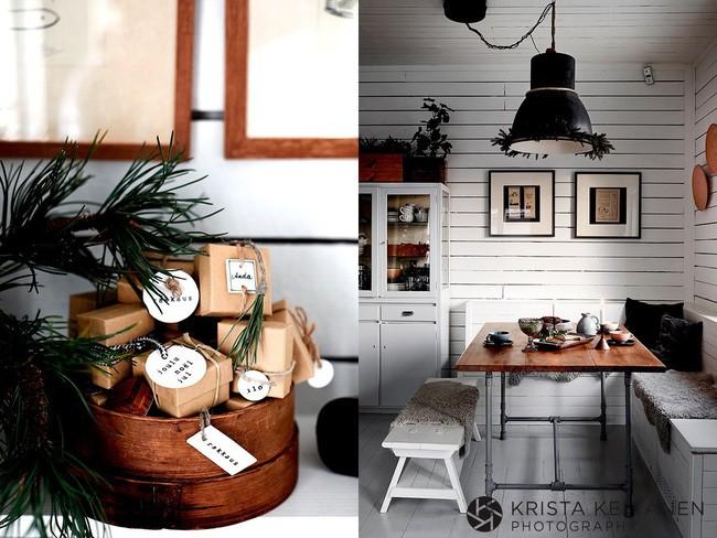 Đón Noel siêu ấm áp với những kiểu trang trí cực đơn giản - ảnh 7