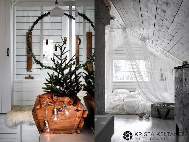 Đón Noel siêu ấm áp với những kiểu trang trí cực đơn giản - ảnh 8