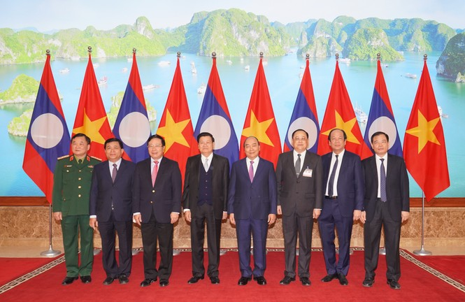 Chùm ảnh: Kỳ họp lần thứ 43 Ủy ban liên Chính phủ Việt Nam-Lào - ảnh 2