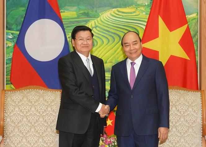 Chùm ảnh: Kỳ họp lần thứ 43 Ủy ban liên Chính phủ Việt Nam-Lào - ảnh 3