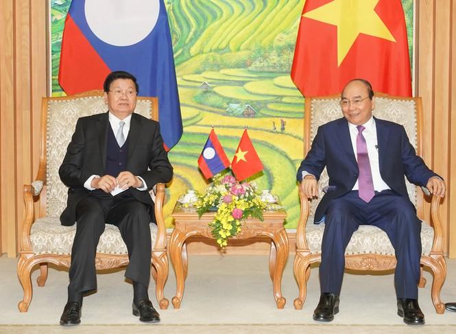 Chùm ảnh: Kỳ họp lần thứ 43 Ủy ban liên Chính phủ Việt Nam-Lào - ảnh 4