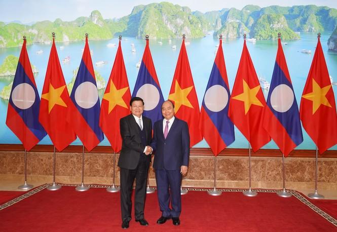 Chùm ảnh: Kỳ họp lần thứ 43 Ủy ban liên Chính phủ Việt Nam-Lào - ảnh 1