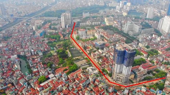 Hà Nội nới tiến độ đường Huỳnh Thúc Kháng kéo dài đến năm 2022 - ảnh 2