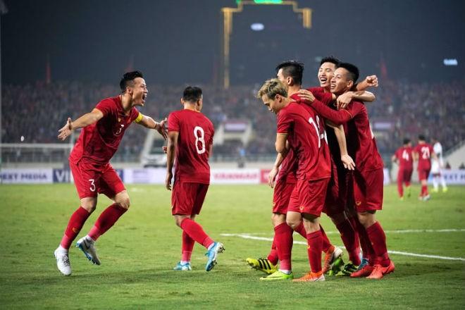 Việt Nam chỉ đứng sau 5 đội châu Á ở lượt đi Vòng loại World Cup 2022 - ảnh 1