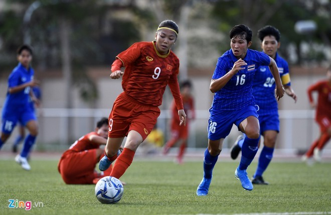 HLV Mai Đức Chung nói gì khi đội tuyển nữ bị Thái Lan cầm hoà phút cuối?  - ảnh 1
