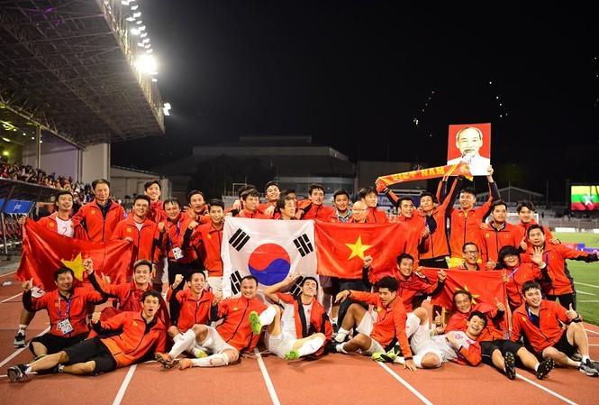 U22 Việt Nam bay đi Hàn Quốc ngay sau khi về nước - ảnh 1