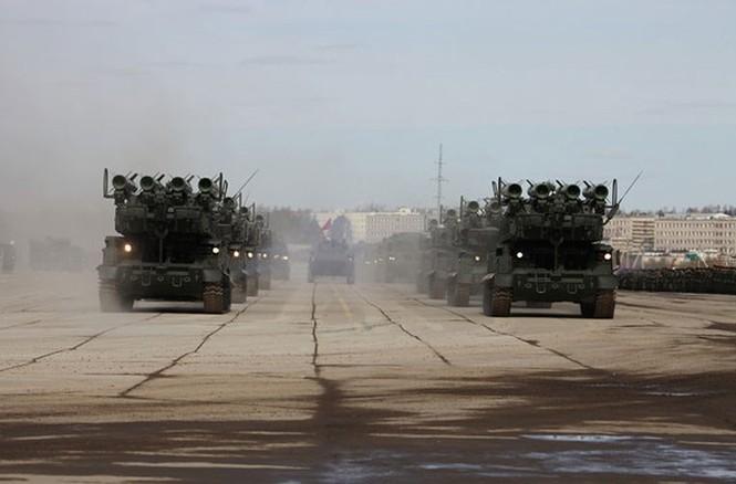 Nga phô trương vũ khí cho Ngày chiến thắng - ảnh 8