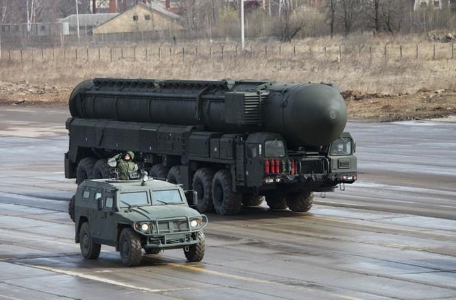 Nga phô trương vũ khí cho Ngày chiến thắng - ảnh 12