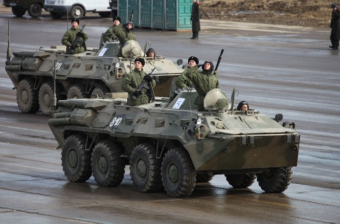 Nga phô trương vũ khí cho Ngày chiến thắng - ảnh 1