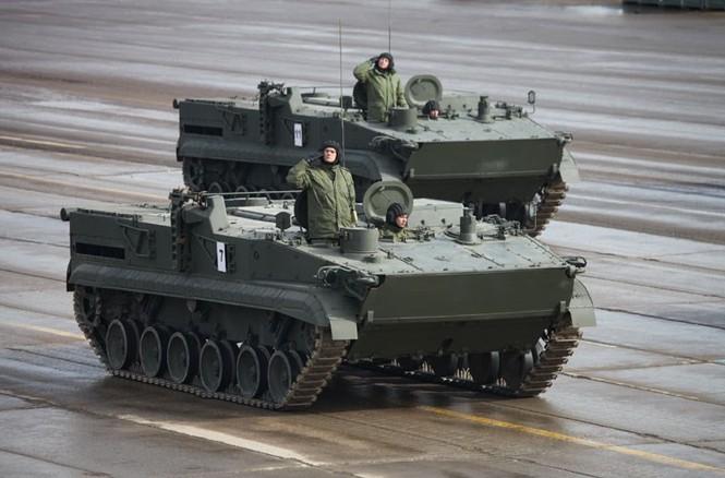 Nga phô trương vũ khí cho Ngày chiến thắng - ảnh 6