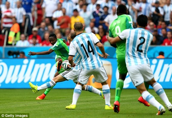 Argentina - Nigeria (3-2): Bão lốc Albicelestes - ảnh 11