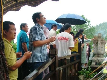 Hàng vạn người đội mưa viếng mộ Đại tướng dịp Tết độc lập - ảnh 7