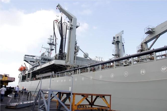 Nhìn gần tàu Hải quân Australia thăm Đà Nẵng - ảnh 5