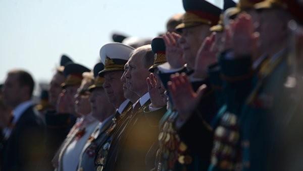 Hùng tráng lễ duyệt binh mừng Ngày Chiến thắng ở Nga - ảnh 22
