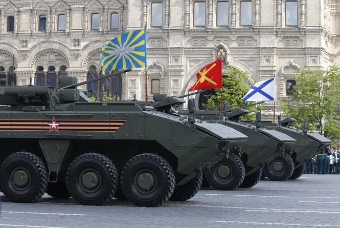 Hùng tráng lễ duyệt binh mừng Ngày Chiến thắng ở Nga - ảnh 32