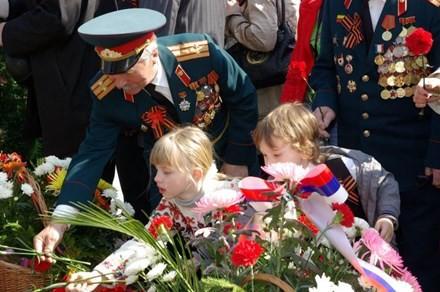 Hùng tráng lễ duyệt binh mừng Ngày Chiến thắng ở Nga - ảnh 8