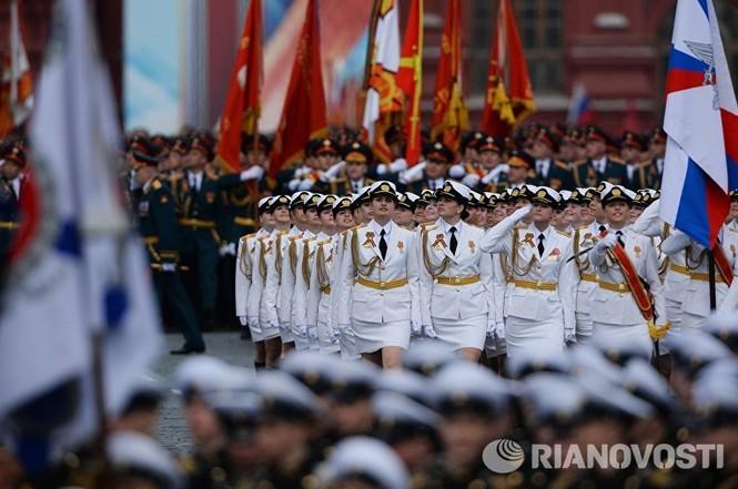 Hùng tráng lễ duyệt binh mừng Ngày Chiến thắng ở Nga - ảnh 29