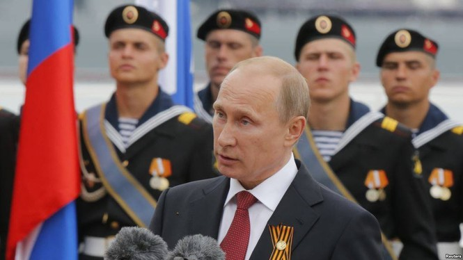 Hùng tráng lễ duyệt binh mừng Ngày Chiến thắng ở Nga - ảnh 1