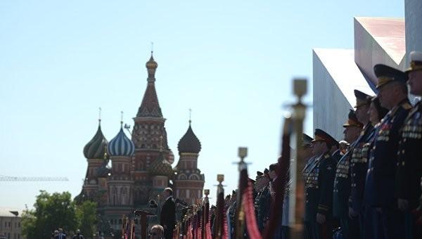 Hùng tráng lễ duyệt binh mừng Ngày Chiến thắng ở Nga - ảnh 20