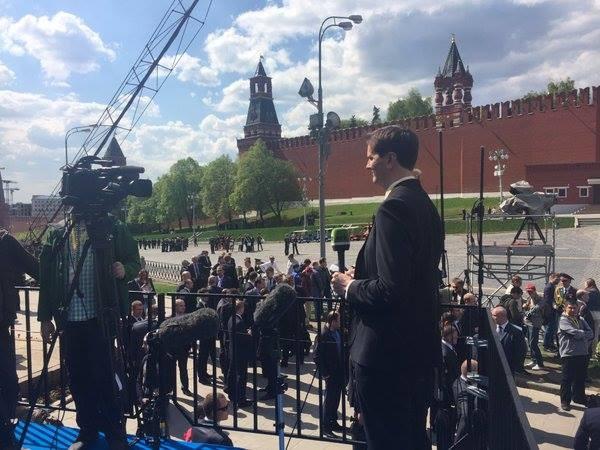Hùng tráng lễ duyệt binh mừng Ngày Chiến thắng ở Nga - ảnh 16
