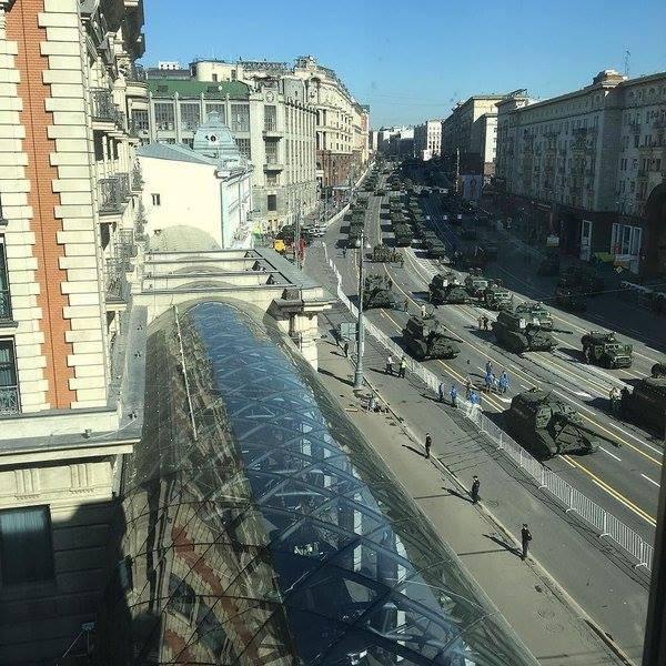 Hùng tráng lễ duyệt binh mừng Ngày Chiến thắng ở Nga - ảnh 12