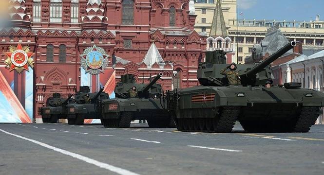Hùng tráng lễ duyệt binh mừng Ngày Chiến thắng ở Nga - ảnh 31